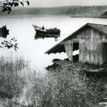 Fiskebåtarna går ut, Hagviken, Njutånger, september 1961.