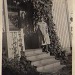 Rolands mamma Anna, här elegant uppklädd.