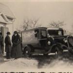 Rolands morfars begravning mars 1940.