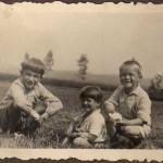 Tord Mickelsson, Roland Laurin och Lasse Mickelsson.