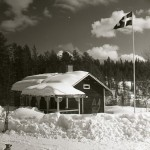 Stugan vinter 8/4 -62 Foto Hilding Mickelsson