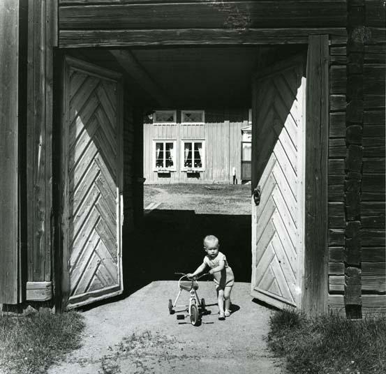 4 186 Portlider i Fors, Norrala. Foto: Hilding Mickelsson