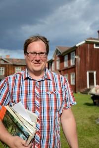 Lars Nylander, Hälsinglands museum Foto: Anna Hildingson Edling