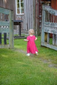 Freja Hildings barnbarnsbarn. Foto Anna Hildingson Edling