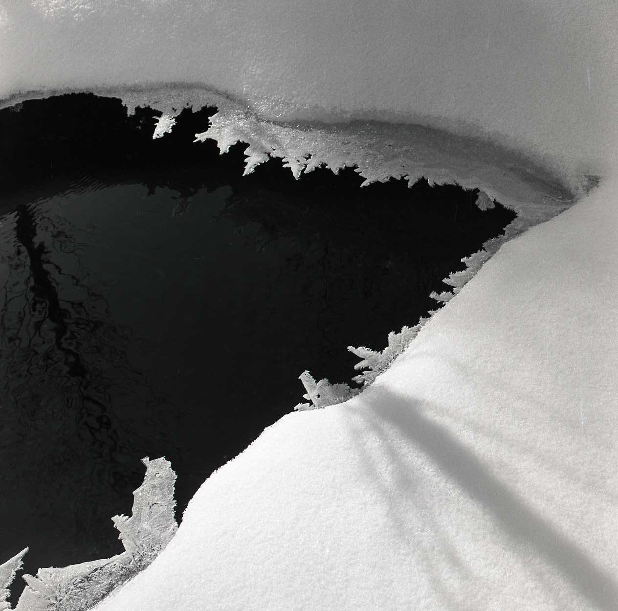 M 107 440: Vaken vid Höleån februari 1961. Foto: Hilding Mickelsson©