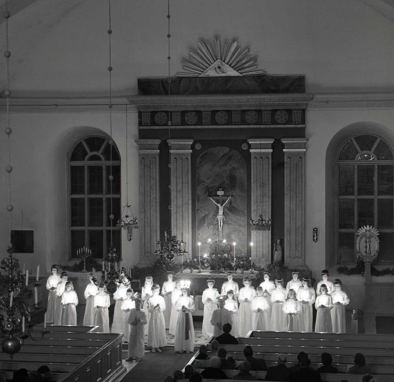M 66 531:Lucia december 1960. Foto: Hilding Mickelsson©