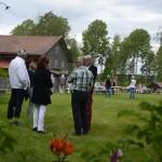 Besökare på Hildingdagen 2017 . Foto Anna Hildingson Edling