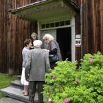 Under Hildingdagen stod Regnellgården och Hildingrummets dörr öppen för besökarna. Foto Anna Hildingson Edling